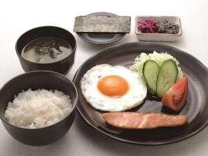 朝食プラン