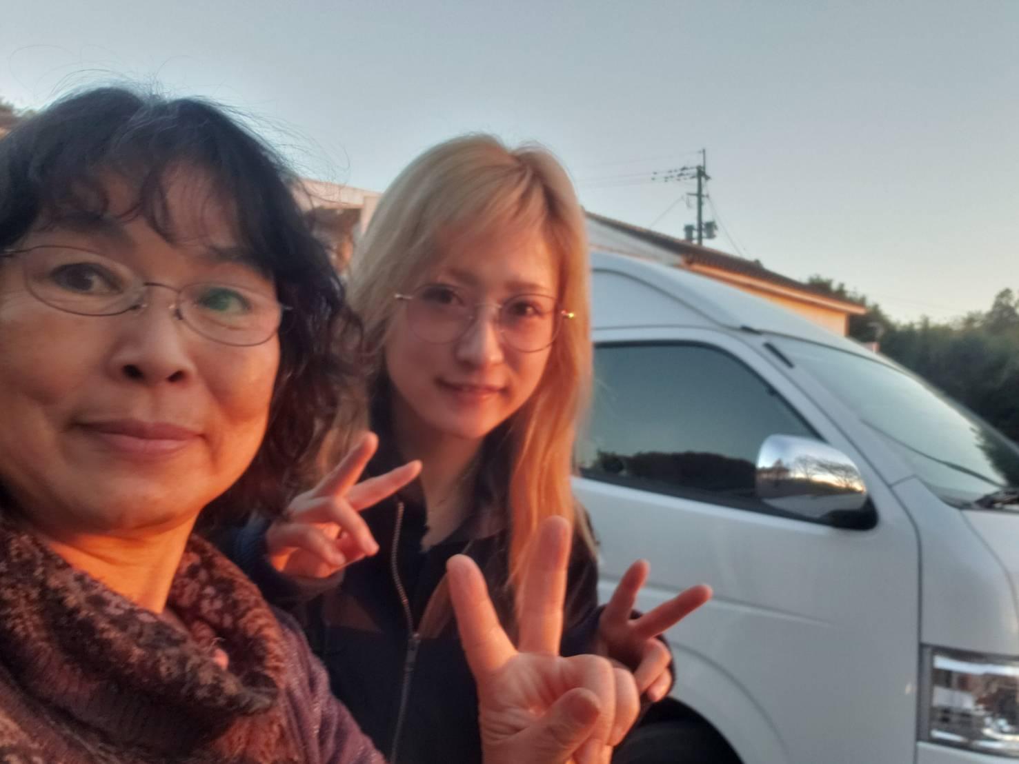 MIHO氏とライラックママ